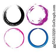 Paint-Brush - Grunge Circle