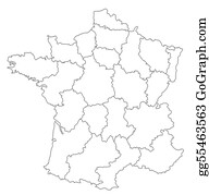 Map-Of-India - Map Of France