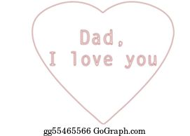 I-Love-You-Dad - Dad I Love You Embroidery