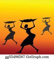 Basket - African Women