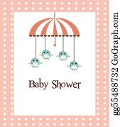 Baby-Girls - Baby Shower Card For Girls