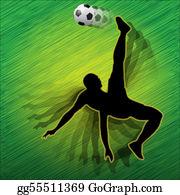 Acrobatic - Football Player-Soccer Player