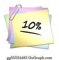 Memo-Pad - Memo With Paper Clip - 10 %