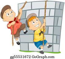 Climbing - Children Climbing Wall