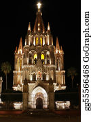 Church-Building - San Miguel De Allende Church