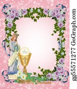 Guardian-Angel - First Holy Communion Invitation