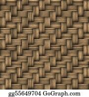 Entwined - Wicker Woven Basket Texture