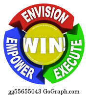 Inspirational - Envision Empower Execute - Win