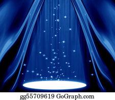 Stage-Curtain - Spotlight