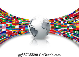 Globe-Flags - Flags Of The World
