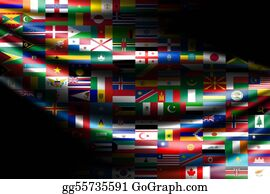 Multi-Ethnic-Group - Flags