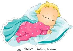 Baby-Girls - Sleeping Baby