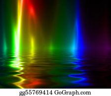 Dance-Of-Lights-In-The-Dark - Rainbow Flames