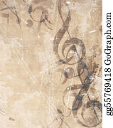 Sheet-Music - Old Music Sheet