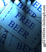 Admission-Ticket - Free Beer