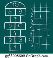 Hopscotch - Hopscotch Game And Chart