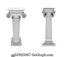 Marble - Marble Columns Two Views