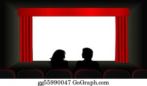 Movie-Production - At The Movies Illustration
