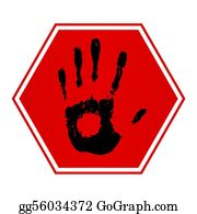 Hand-Sign - Stop Hand