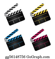 Movie-Production - Movie Clapper Boards