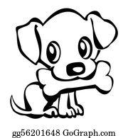 Barking-Dog - Puppy With Bone