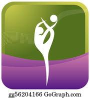 Acrobatic - 16   Female Doing Ball Gymnastic
