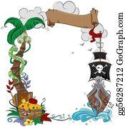Treasure - Pirate Frame