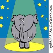 Blue-Elephant - Elephant With Tired Eyes Performing