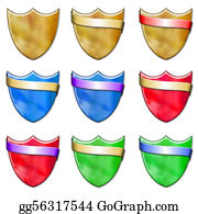 Fleur-De-Lys - Shield And Scrolls