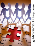 Group-Of-People - Team Puzzle