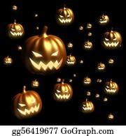 Scary-Pumpkin - Halloween Pumpkin Floating