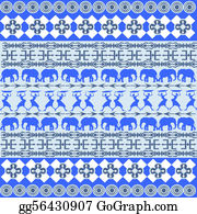 Blue-Elephant - African Blue Texture