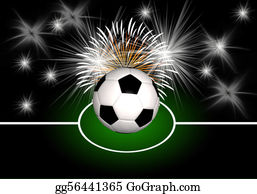 Football-Abstract - Abstract Soccer Background