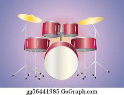 Drum-Set - Drumset Red