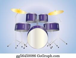 Drum-Set - Drum Set Purple
