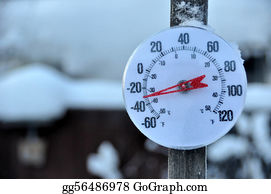 Freezing-Cold - Cold Weather Thermometer