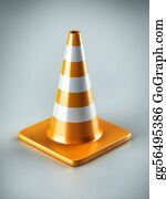 Obstacle-Course - Traffic Cone
