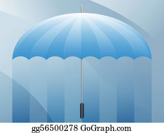 Umbrella - Umbrella Blank Presentation Background