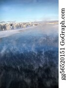 Freezing-Cold - Freezing Vapour On Water