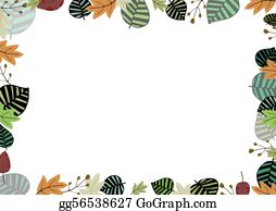 Plant-Life - Mixed Leaf Frame
