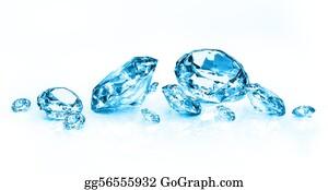 Treasure - Blue Diamonds