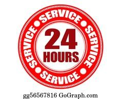 24-Hour - Label 24 Hour Service