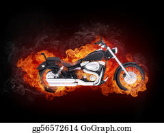 Fire-Engine - Motorcycle