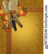 Fall-Harvest-Background - Thanksgiving Fall Border
