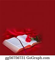 Christ-Is-Risen - Red Background With Bible