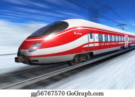 Cabin - Winter High Speed Train