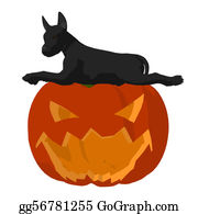 Halloween-Dog - Halloween Dog Illustration