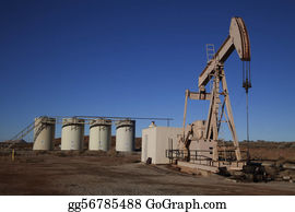 Blue-Sky - Oil Well