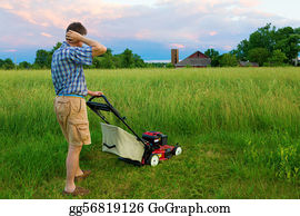 Tall-And-Short - Mowing Job