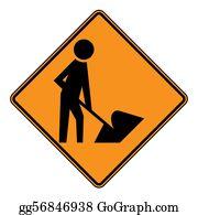 Roadworks - Roadworks Sign